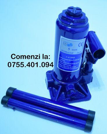 Cric hidraulic tip butelie 5 T tone Cric hidraulic cilindric 5 tone