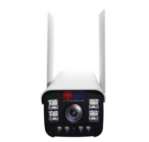Wi-Fi Камера видеонаблюдения с сиреной, уличная, день/ночь, онлайн, ув