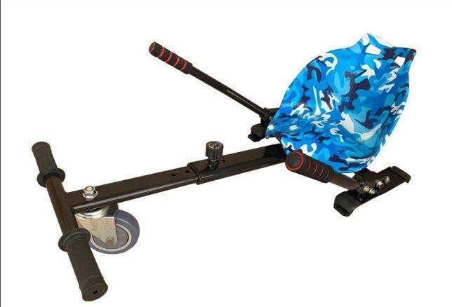 Hoverkart albastru scaun pentru hoverboard