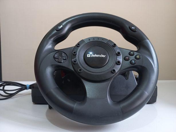 Продам Игровой руль Defender forsage Drift GT