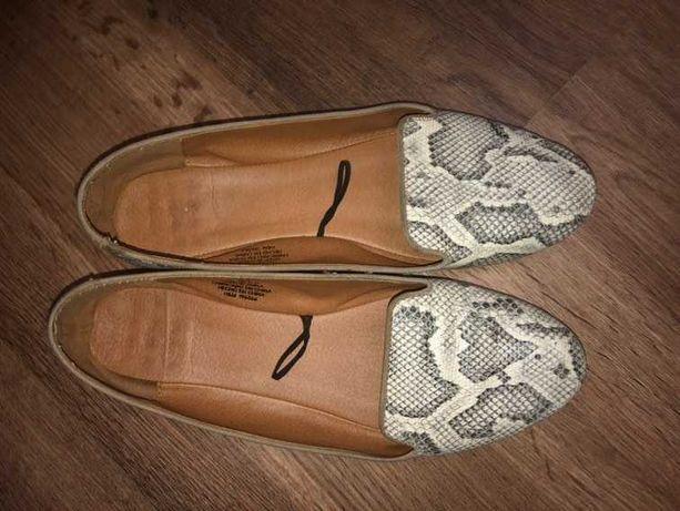 Стильные туфли лоферы балетки. H&M