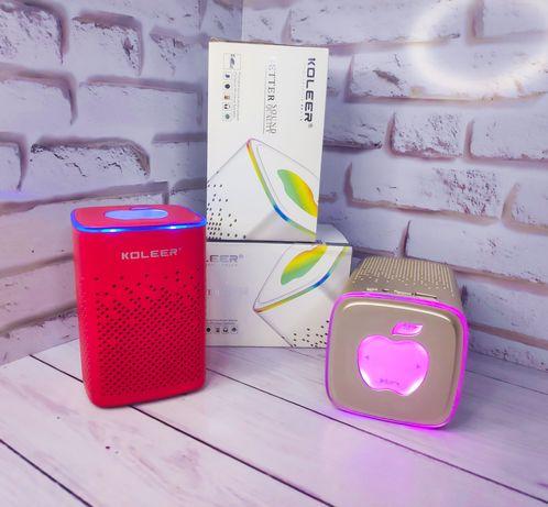 Светящиеся колонка Apple