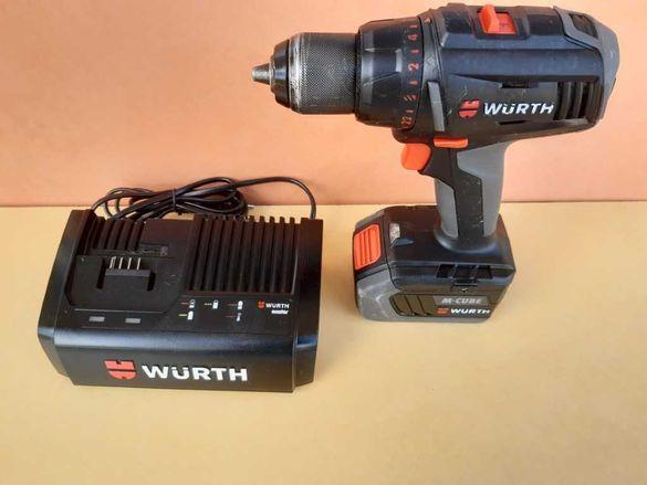 WURTH ABS 18 COMPACT M-CUBE  - мощен акумолаторен винтоверт
