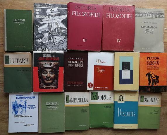 Mircea Eliade Heraclit Roussos Campanella Morus Condillac Filosofie