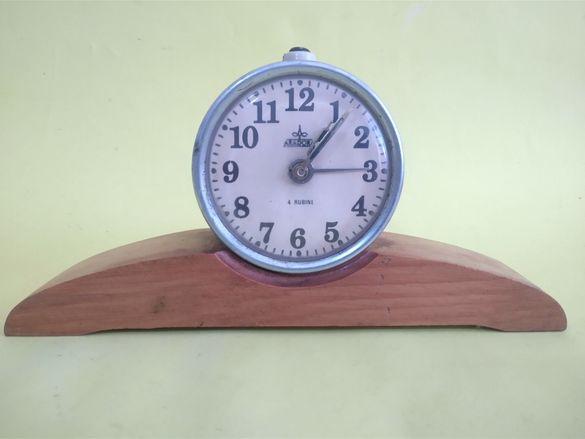 Румънски Механичен Часовник Будилник Арадора