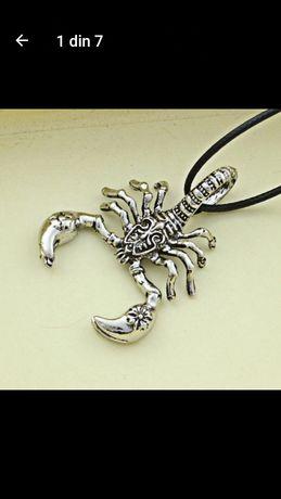 Pandantiv,colier scorpion