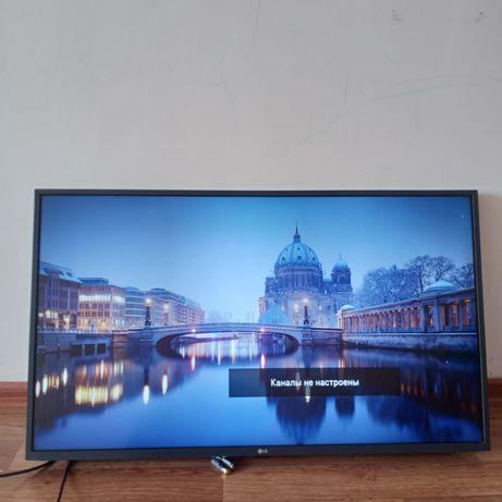 43um7300 телевизор смарт 4к