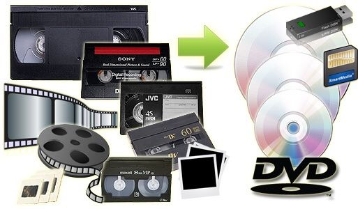 Transfer casete video pe suport dvd sau memory stick