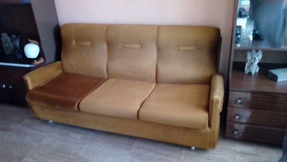 Холна гарнитура с два фотьойла и табуретки