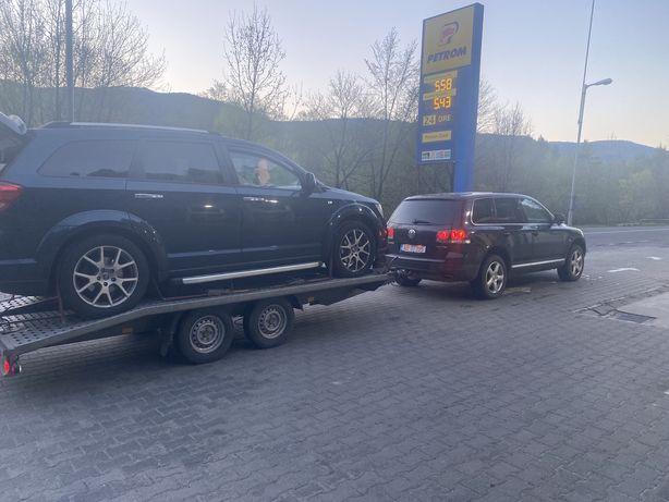 Tractări auto asistenta rutieră închirieri trailer platforma auto 24/7