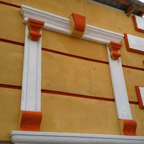 Обрамление окон Фасадный декор обрамление окон из пенопласта