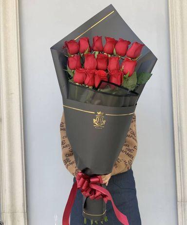 Цветы Алматы Доставка, букеты, розы, пионы