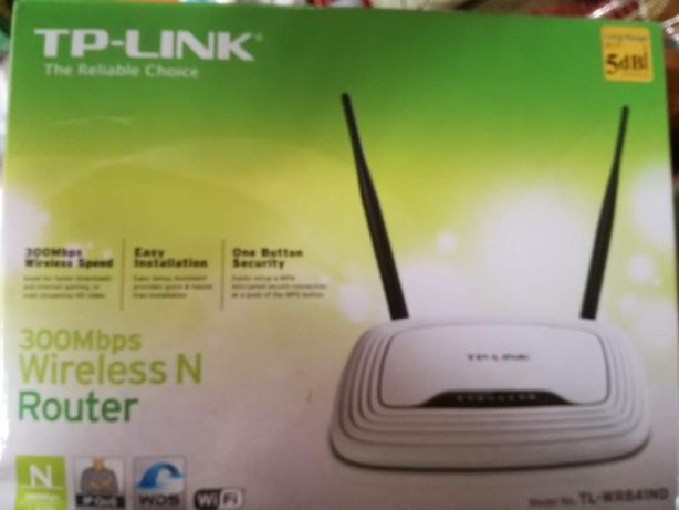 Router wireless TP-LINK TL-WR841N, Single-Band 300Mbps, alb
