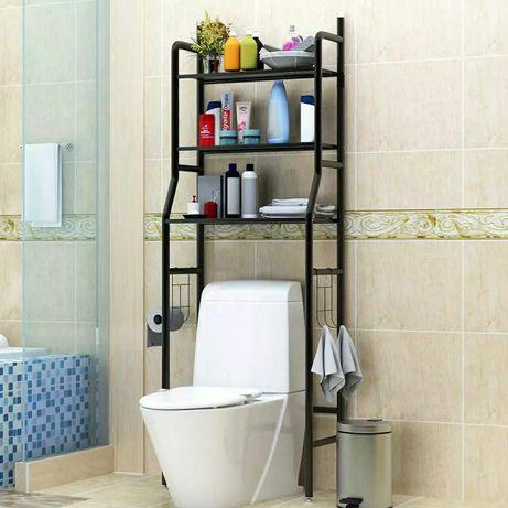 Органайзер полка для ванной комнаты .Цветы: черный, б