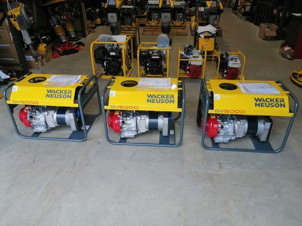 Generator curent pe benzina Wacker Neuson GV5000A, 3,9KW