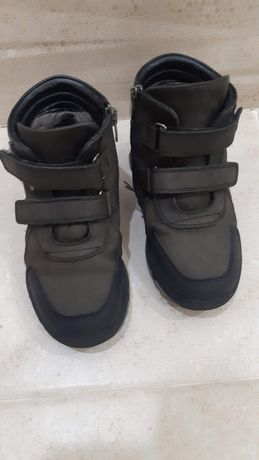 Зимняя кожанная обувь