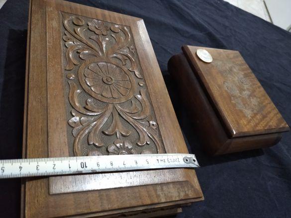 Дървени кутии за бижута