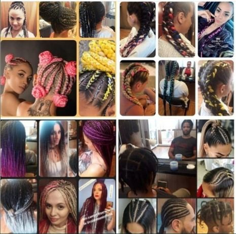 Codițe afro, extensii afro, twist, cornrows