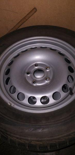 Зимни гуми с джанти за VW Tiguan / Тигуан гр. Плевен - image 1