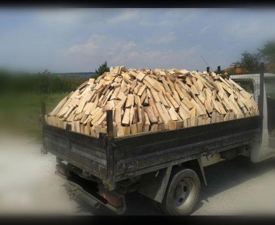Изрезки от дъб, дърва за огрев