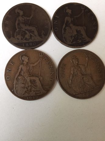 One penny UK Monede Colectie