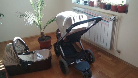 Бебешка количка с 2 коша