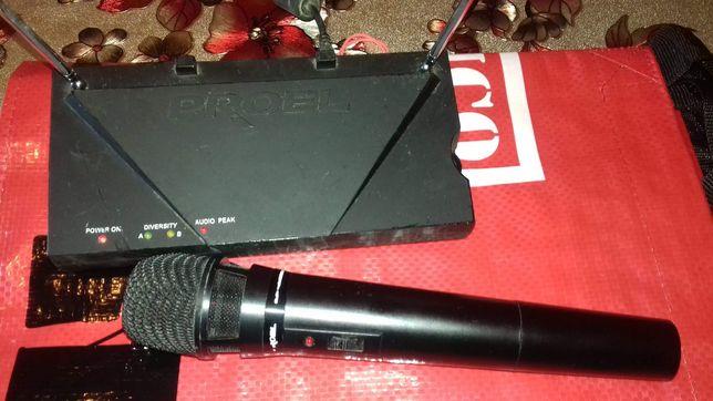 Vand microfon fara fir Proel rm 200
