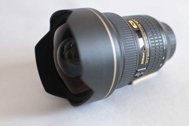 Объектив Nikon AF-S Nikkor 14-24mm f/2,8G