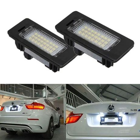LED плафони за регистрационен номер BMW / БМВ Е39 Е60 Е61 E63 E90