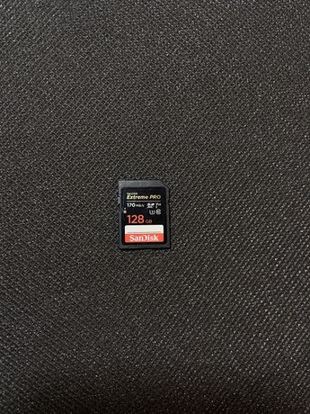 Флеш карты SanDisk 128GB Extreme PRO  170MB/s Class 10