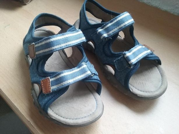 Sandale Next, copii, panza cu piele, marime 35 (interior 21,7cm)