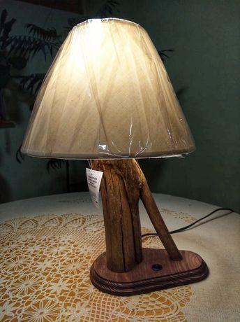 Ръчна изработка Лампа - от дърво