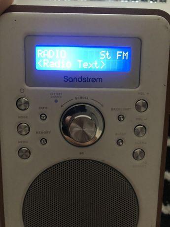 Radio portabil bluetooth sandstrom