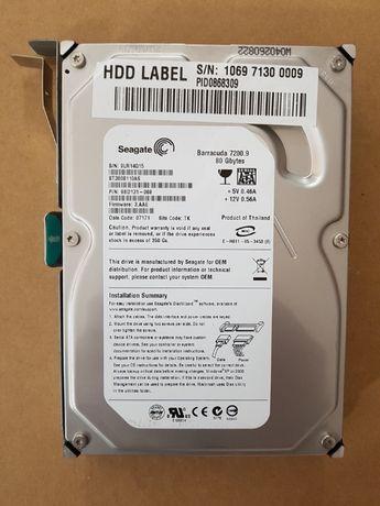 HDD Seagate Barracuda 80GB 7200. 9