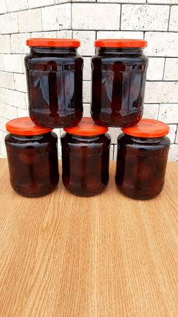 Compot ecologic de prune, livada si productie proprie, 720 ml/borcan