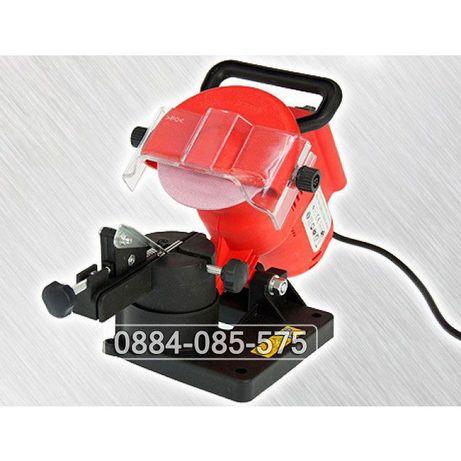 Уред за заточване на вериги на резачки за дърва premium 220w