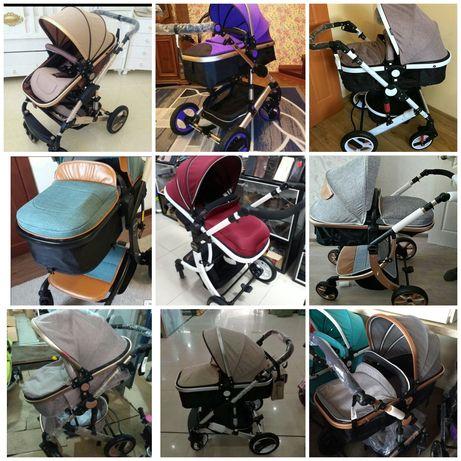Детские коляски новые. Склад. Коляски для двойни