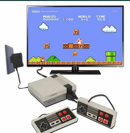 Consola TV retro consola 620 jocuri 2 controlere