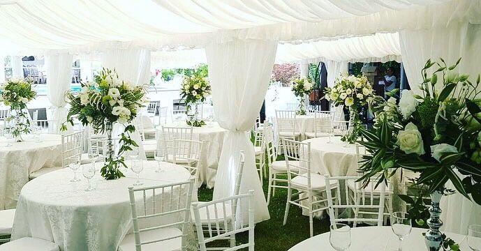 Inchiriem Cort Corturi evenimente nunta botez , scaune , mese , decor Pitesti - imagine 1