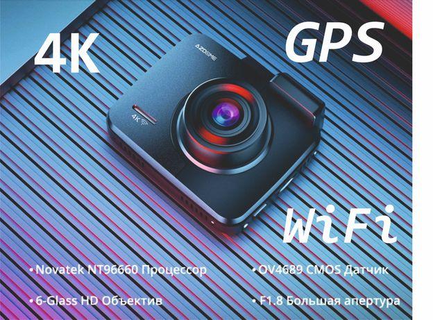 Новый видеорегистратор с GPS и WiFi
