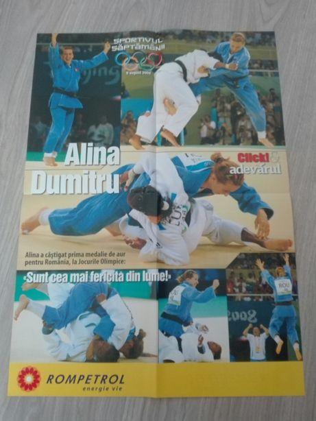 Postere sport - Alina Dumitru, Anul Sportiv 2008