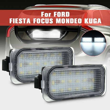 LED плафони регистрационен номер Ford Fiesta Focus C-Max Mondeo