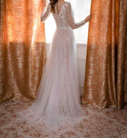 Rochie de mireasa model Nonna