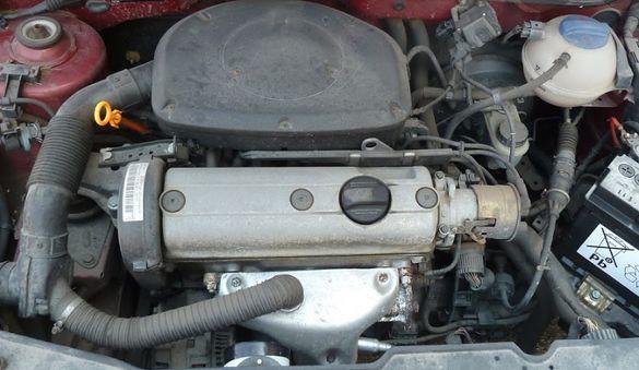 Двигател Vw polo 6n 1.6 ГАЗ-96г/ фв поло 6н-1996г на части