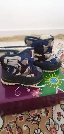 Детская зимняя ботинка