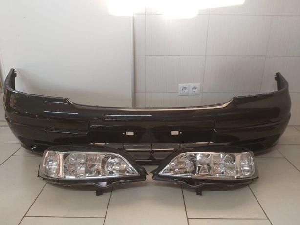 Bara Fata + Faruri Opel Astra G 1998-2004 (Z298 (Negru))