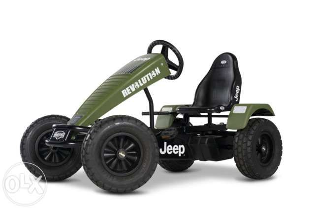Kart cu pedale BERG Jeep Revolution BFR pentru copii si adulti