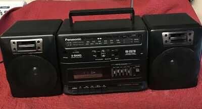 Panasonic RX-CS710 Radiocasetofon Stereo Portabil 1991 Retro Vintage