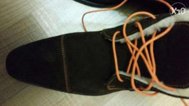 Ghete,papuci,bocanci cu blana din piele intoarsa NOI
