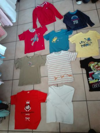 Tricouri+ bluze copii 8buc